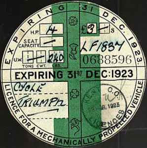 Tax disc abolished in Autumn Statement
