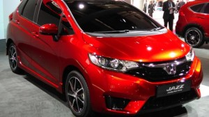 Honda Jazz 2015 model. Paris Motor Show 2014