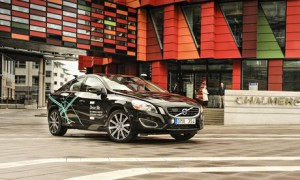 Volvo S60 2015 driverless cars in the UK