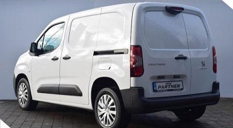 Van Review: Peugeot Partner